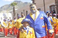 Parata della via di Cape Town - di Kaapseklopse - secondo nuovo anno 2019 immagine stock