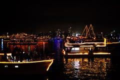 Parata delle barche di Sydney NYE 2015 Immagine Stock Libera da Diritti