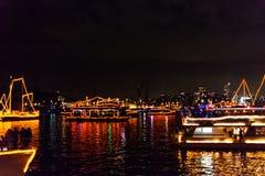 Parata delle barche di Sydney NYE 2015 Immagini Stock