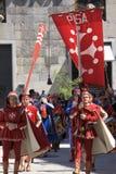 Parata delle Repubbliche marittime antiche 2010 Immagine Stock Libera da Diritti