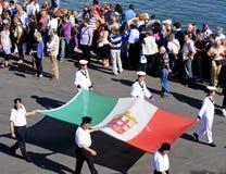 Parata delle Repubbliche marittime antiche 2010 Immagini Stock Libere da Diritti