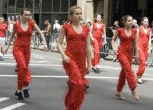 Parata di ballo di New York City Fotografia Stock Libera da Diritti