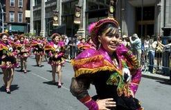Parata di ballo di New York City Immagini Stock