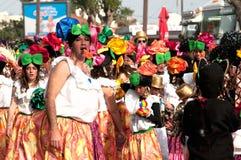 Parata di carnevale di Limassol, 6 marzo 2011 Immagine Stock