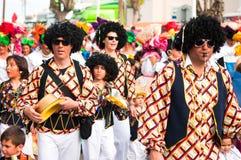 Parata di carnevale di Limassol, 6 marzo 2011 Immagini Stock Libere da Diritti