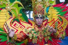 Parata 2018 di Chingay Fotografie Stock