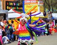 Parata di Cinco de Mayo immagine stock