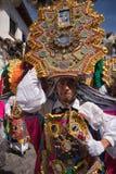 Parata di Corpus Christi nell'Ecuador Immagini Stock