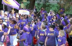 Parata di Festa del Lavoro di Toronto Immagine Stock Libera da Diritti