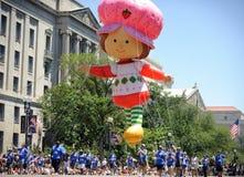 Parata di festa dell'indipendenza Fotografie Stock