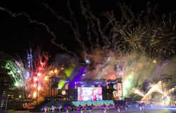 Parata 2013 di festa nazionale di Singapore Immagine Stock