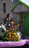 Parata di festival del fiore di ciliegia. fotografia stock libera da diritti