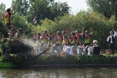 Parata di galleggiamento 2011 del fiore di Westland Immagine Stock Libera da Diritti