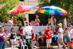 Parata di gay pride Immagini Stock Libere da Diritti