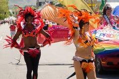 Parata di gay pride Fotografia Stock