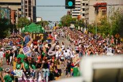 Parata di gay pride Fotografie Stock