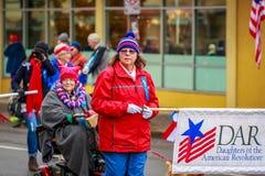 Parata 2017 di giornata dei veterani Immagine Stock Libera da Diritti