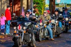 Parata 2015 di giornata dei veterani Fotografie Stock