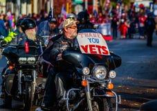 Parata 2015 di giornata dei veterani Immagine Stock