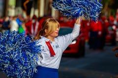 Parata 2015 di giornata dei veterani Immagini Stock