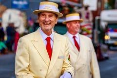 Parata 2015 di giornata dei veterani Fotografie Stock Libere da Diritti