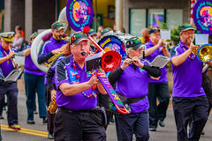 Parata 2016 di giornata dei veterani Fotografie Stock