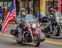 Parata 2016 di giornata dei veterani Fotografia Stock