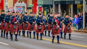 Parata 2016 di giornata dei veterani Immagini Stock Libere da Diritti