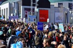 Parata di giornata per la Terra Fotografia Stock Libera da Diritti