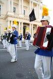 Parata di giorno del patrick santo a Londra. fotografia stock libera da diritti