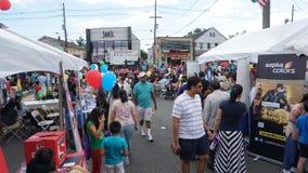 parata di giorno dell'India di 2015 annuali in Edison, New Jersey fotografia stock