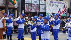 parata di giorno dell'India di 2015 annuali in Edison, New Jersey fotografie stock