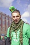 Parata di giorno della st Patricks Fotografia Stock