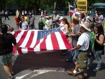 Parata di giorno di maggio New York 2010 Immagine Stock Libera da Diritti