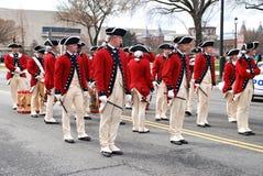 Parata di giorno di Patrickâs del san del Washington DC. immagini stock