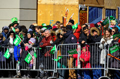 Parata di giorno di San Patrizio Fotografia Stock