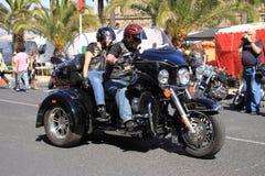 Parata di Harley-Davidson Fotografia Stock