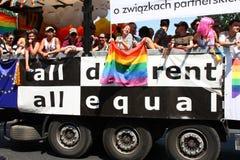 Parata di LGBT fotografia stock