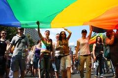 Parata di LGBT fotografie stock libere da diritti