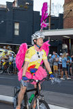 Parata di Mardi Gras della lesbica e di Sydney Gay Fotografia Stock Libera da Diritti