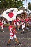 Parata 2014 di Moomba Immagine Stock Libera da Diritti