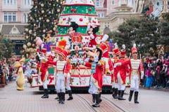 Parata di Natale di Disney Fotografia Stock