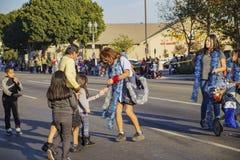 Parata di natale di Highland Park Fotografia Stock Libera da Diritti