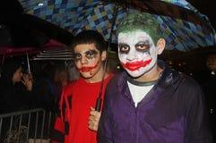 Parata di New York Halloween Immagini Stock