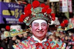 Parata di nuovo anno del Chinatown Fotografie Stock Libere da Diritti