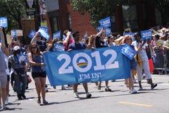 Parata di orgoglio del Chicago Fotografie Stock Libere da Diritti