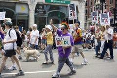 Parata di orgoglio di Boston Immagine Stock Libera da Diritti