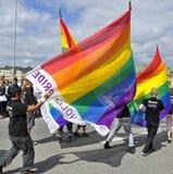 Parata di orgoglio di Stoccolma Fotografia Stock