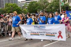 Parata di orgoglio di Toronto Immagine Stock Libera da Diritti