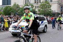 Parata di orgoglio di Toronto Fotografie Stock
